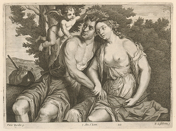 Paris Bordone, Peter Lisebetius, David Teniers ml. - Venuša a Adonis