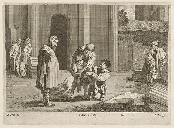 Domenico Fetti, David Teniers ml., Quirin Boel – Náboženská scéna