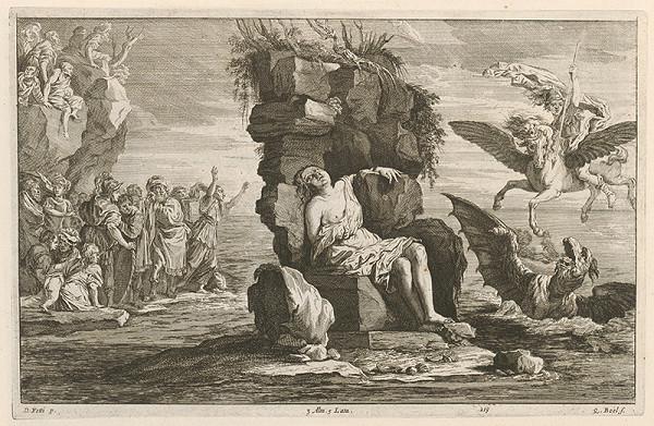 Domenico Fetti, David Teniers ml., Quirin Boel – Perseus oslobodzuje Andromedu