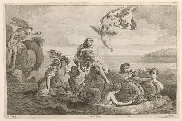 Domenico Fetti, David Teniers ml., Quirin Boel – Galatea a Polyfemus