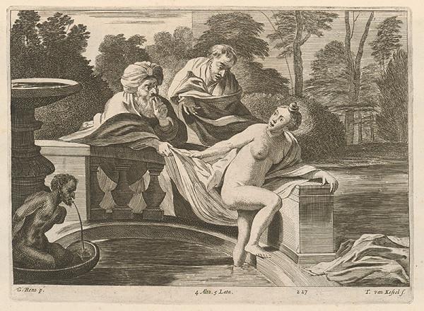 Guido Reni, David Teniers ml., Théodorus van Kessel - Zuzana a starci