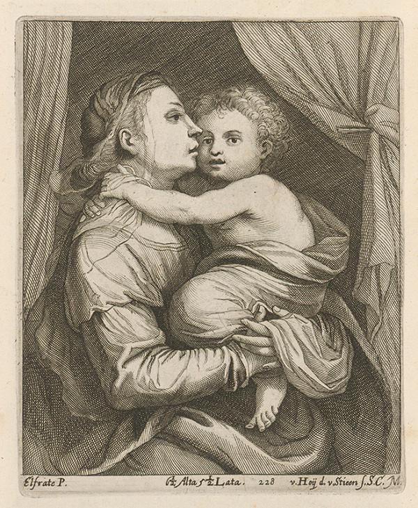 David Teniers ml. – Madona