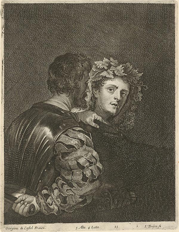 Giorgione, Jan van Troyen, David Teniers ml. - Alegorická scéna s morálnym posolstvom