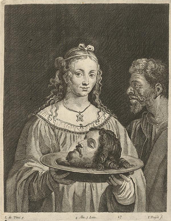 Leonardo da Vinci, Jan van Troyen, David Teniers ml. - Salome s hlavou Jána Krstiteľa