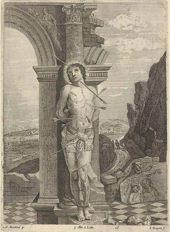 Jan van Troyen, David Teniers ml. – Svätý Sebastián