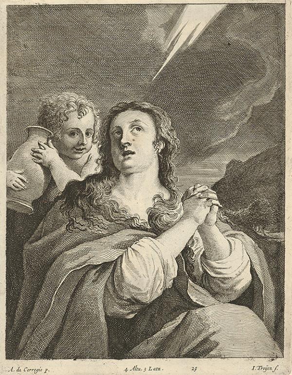 Jan van Troyen, Antonio Allegri Correggio, David Teniers ml. - Svätica