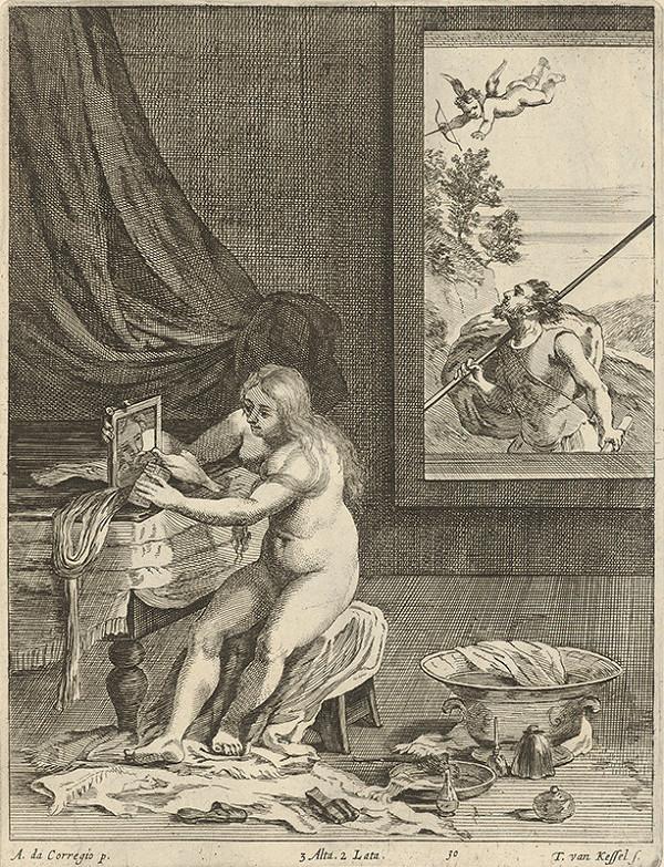 Théodorus van Kessel, Antonio Allegri Correggio, David Teniers ml. – Venušina toaleta