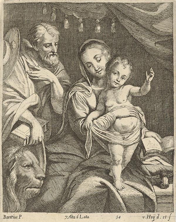 Nikolaus van Hoy, Federico Barocci - Madona so svätým Hieronýmom