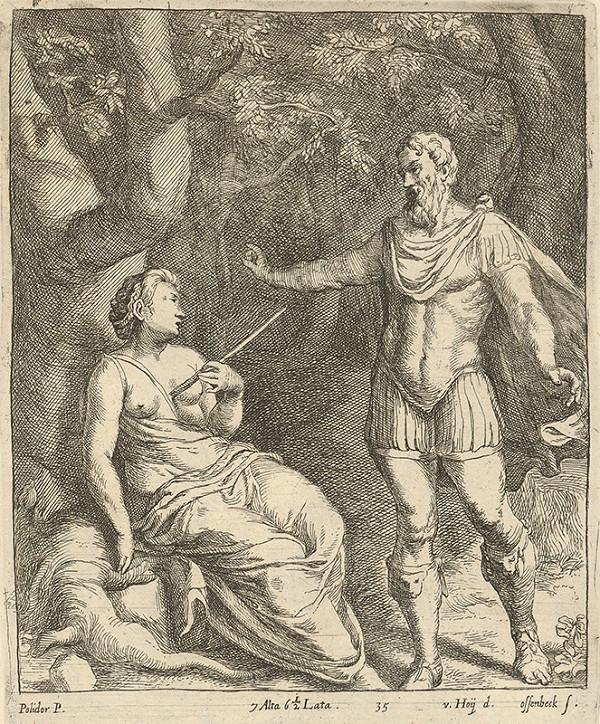 Nikolaus van Hoy, Polidoro da Caravaggio, Jan van Ossenbeck - Anticko-alegorický motív