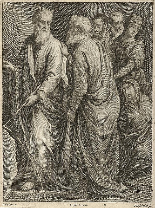 Peter Lisebetius, David Teniers ml., Francesco Primaticcio - Mojžiš vyvádza vodu zo skaly