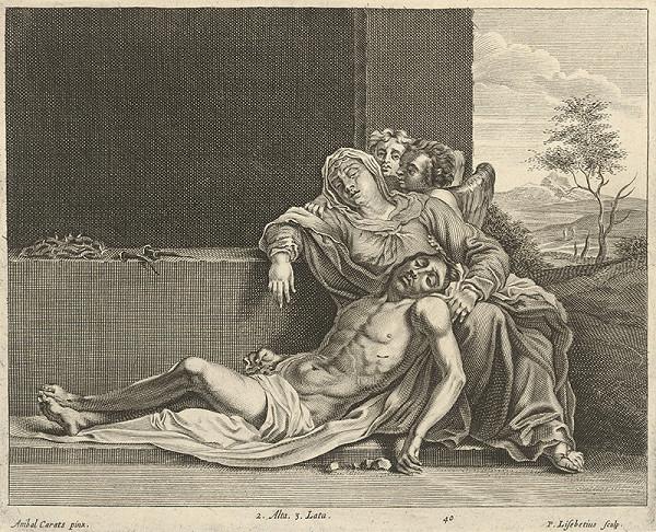 Annibale Carracci, Peter Lisebetius, David Teniers ml. – Oplakávanie Krista