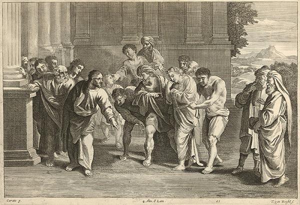Annibale Carracci, Théodorus van Kessel, David Teniers ml. – Kristus a cudzoložnica