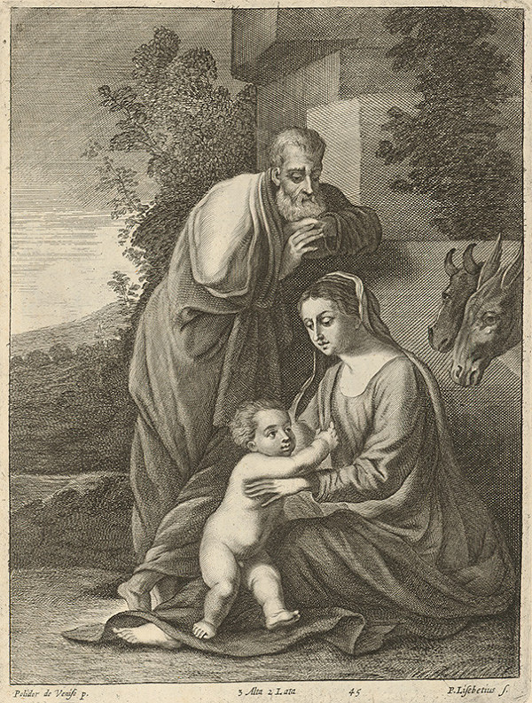 Peter Lisebetius, Polidorus, David Teniers ml. – Svätá rodina