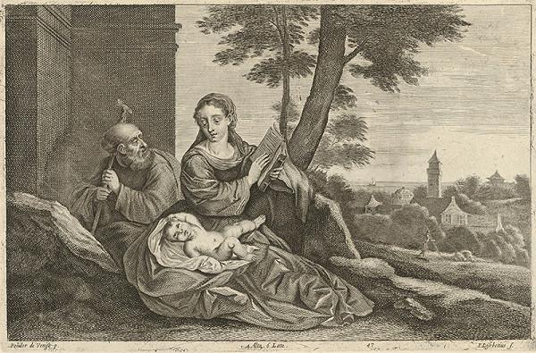 Peter Lisebetius, Polidorus, David Teniers ml. – Svätá rodina v krajine