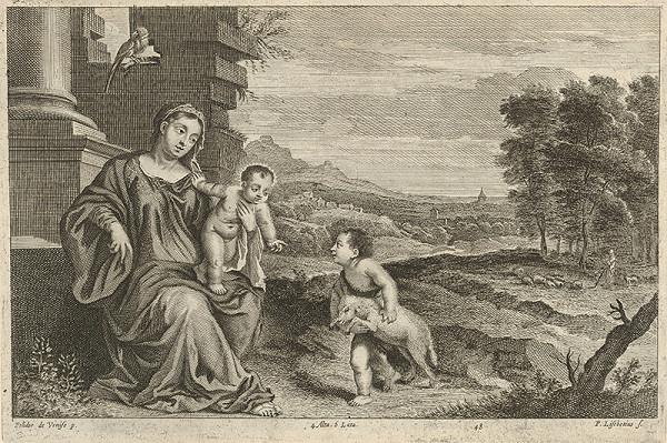Peter Lisebetius, Polidorus, David Teniers ml. - Madona v krajine so svätým Jánom Krstiteľom