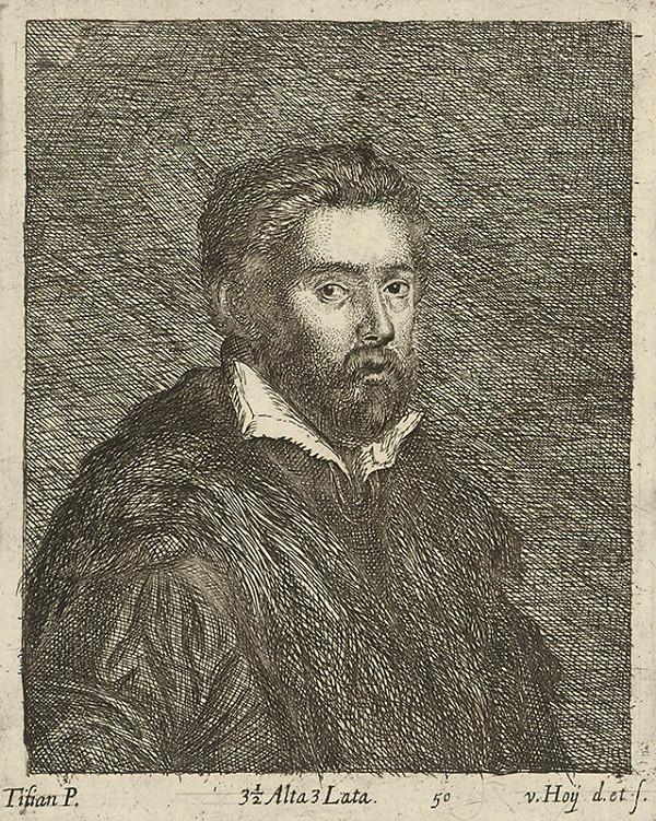 Titian, Lucas Vorsterman, David Teniers ml. - Salome s hlavou Jána Krstiteľa
