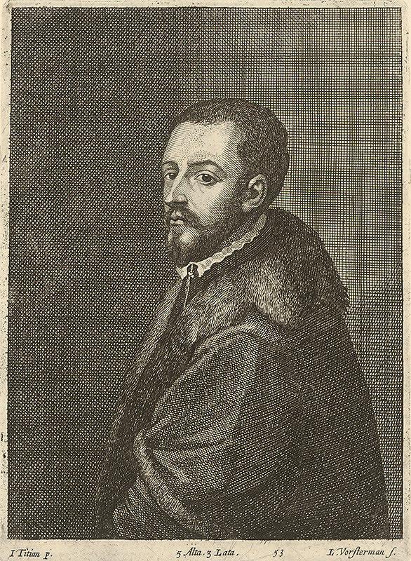 Titian, Lucas Vorsterman, David Teniers ml. - Titianov autoportrét