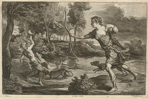 Titian, Peter Lisebetius, David Teniers ml. – Diana a Aktaión