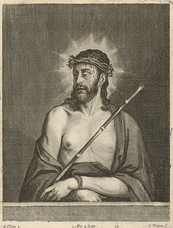 Titian, Jan van Troyen, David Teniers ml. – Bolestný Kristus