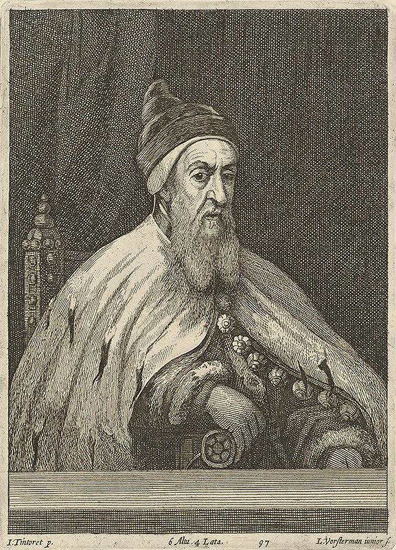 Lucas Vorsterman ml., David Teniers ml., Jacopo Tintoretto - Portét dóžu