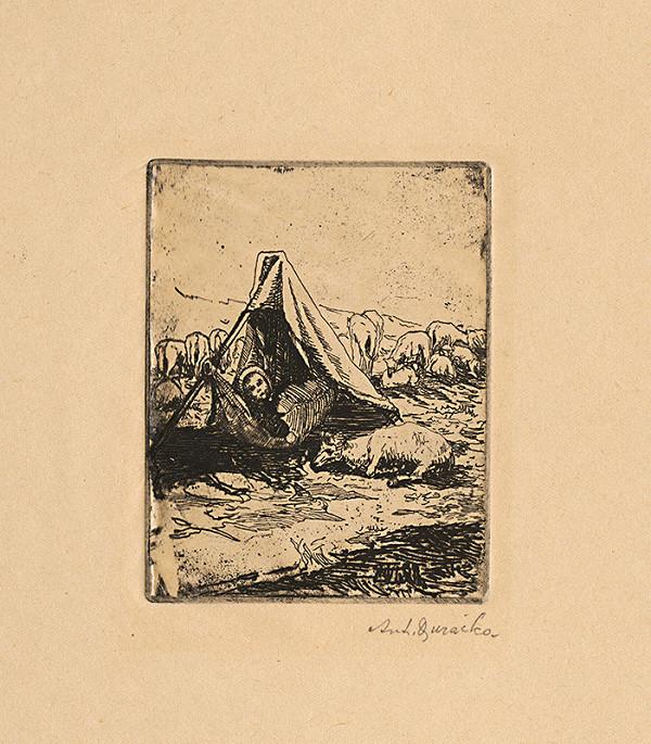 Anton Djuračka - Dieťa na poli