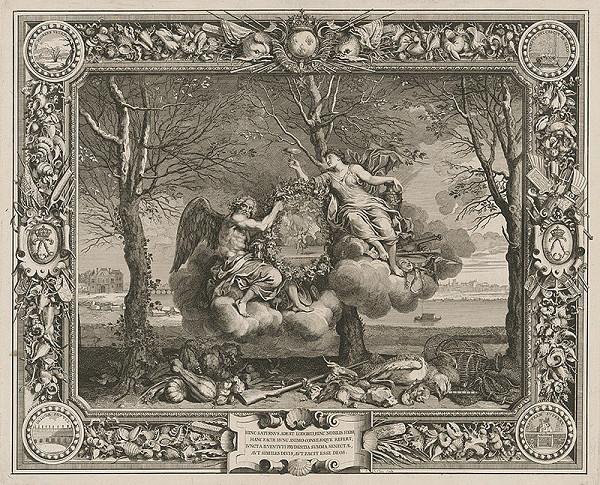 Charles le Brun, Sebastien Le Clerc st. – Božskí radcovia Ľudovíta XIV.