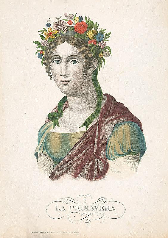 Taliansky maliar zo začiatku 19. storočia – Jar