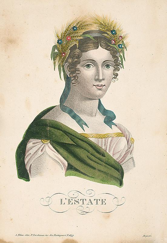 Taliansky maliar zo začiatku 19. storočia – Leto