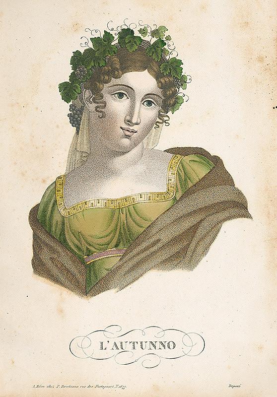 Taliansky maliar zo začiatku 19. storočia – Jeseň