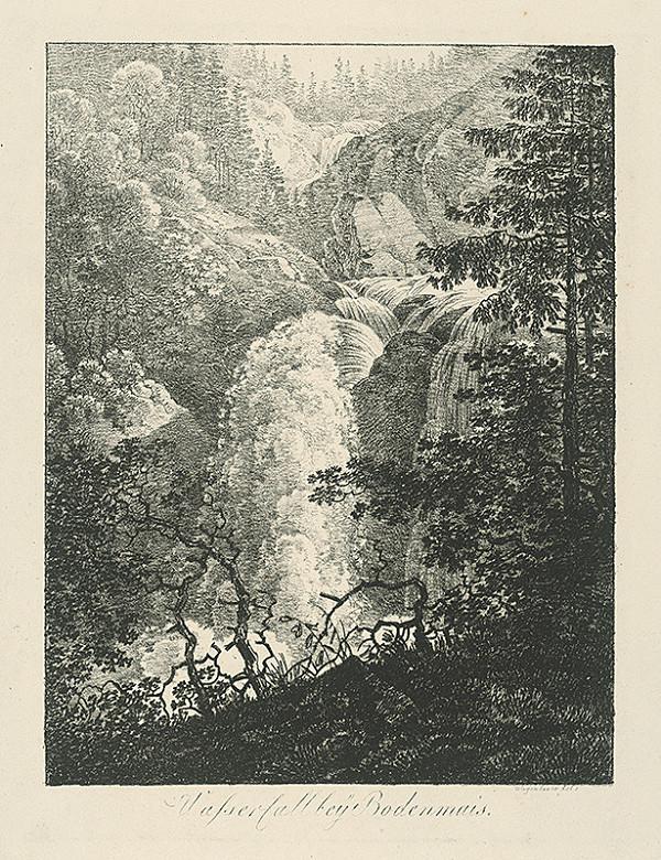 Max Josef Wagenbauer - Vodopád pri Bodenmaisu