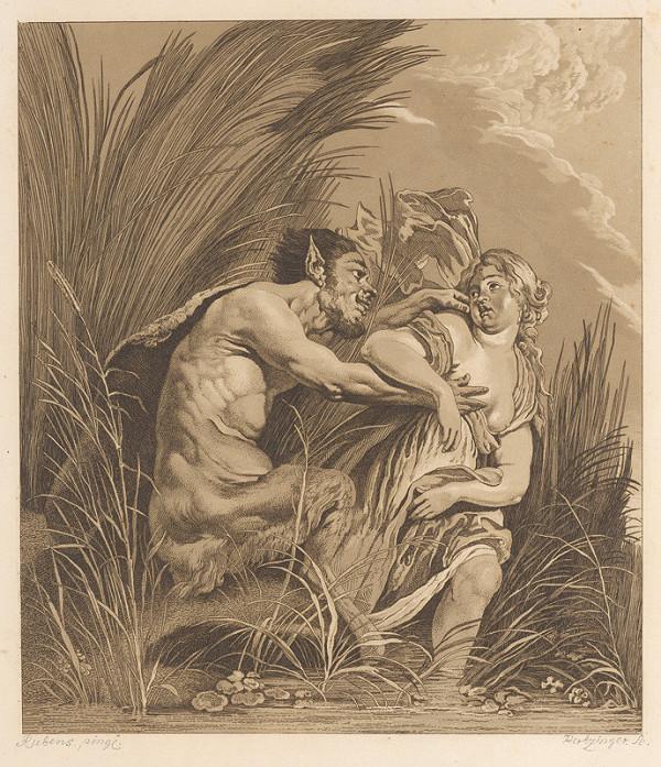 Anton Hertzinger, Peter Paul Rubens – Satyr a deva