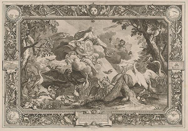Charles le Brun, Sebastien Le Clerc st. – Ľudovít XIV., najväčší muž svojej doby