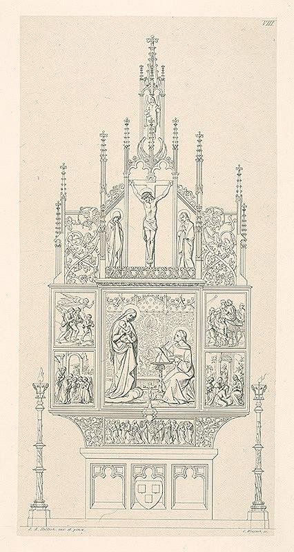 Konrád Wiesner, Johan Anton Hellich - Oltár od J.A.Hellicha