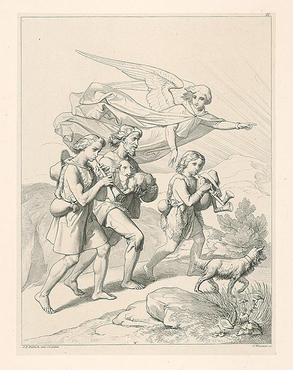 Konrád Wiesner, Johan Anton Hellich - Pastieri putujú do Betléma