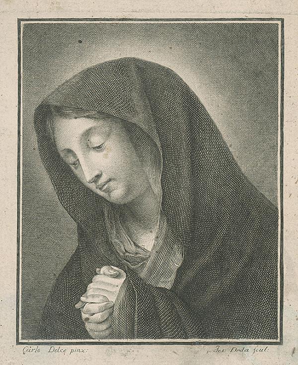 Josef Jan Alois Drda, Carlo Dolce – Sedembolestná Panna Mária
