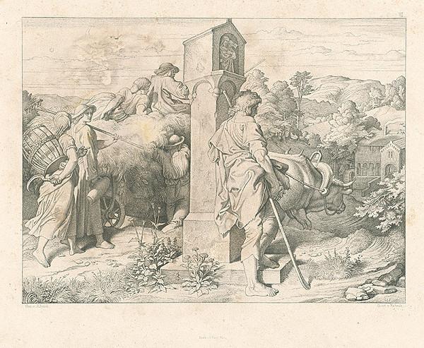 Alois Petrák, Joseph von Führich - Cesta domov