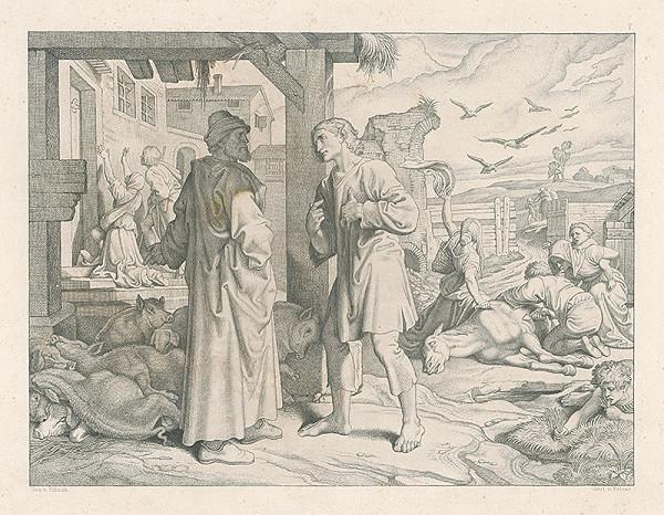 Alois Petrák, Joseph von Führich - Po žobraní
