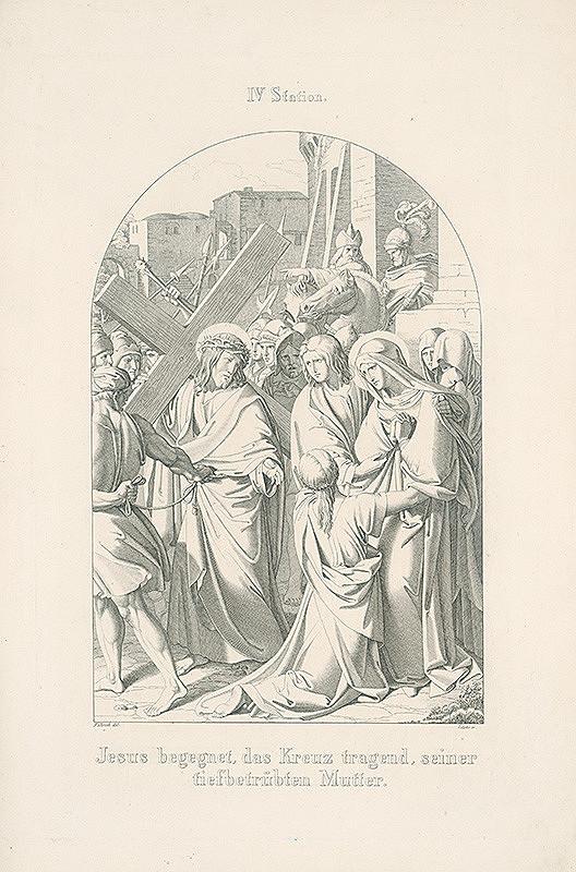 Vendelín Želísko, Joseph von Führich - Ježiš stretáva užialenú matku