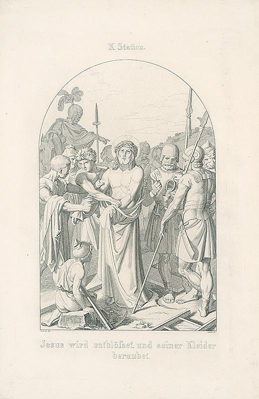Vendelín Želísko, Joseph von Führich - Ježišovi strhávajú šaty