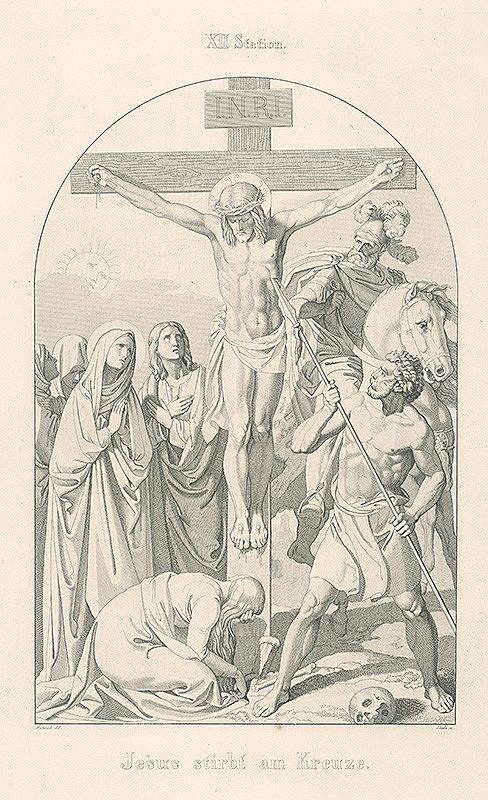 Josef Skála, Joseph von Führich - Ježiš umiera na kríži