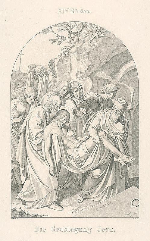 Josef Skála, Joseph von Führich - Uloženie Krista do hrobu