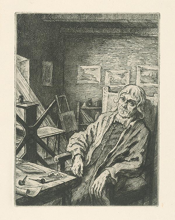 Vladimír Silovský – Podobizeň V.Hollara