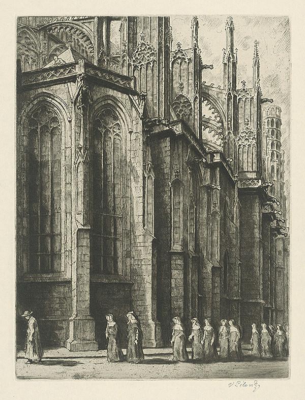 Vladimír Silovský – Katedrála sv.Víta v Prahe