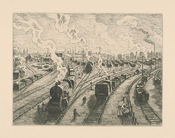 Vladimír Silovský – Železničná dráha