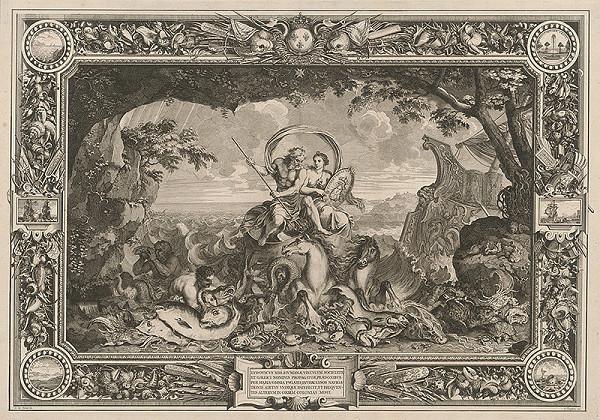 Charles le Brun, Sebastien Le Clerc st. – Ľudovít XIV., obroditeľ Francúzska