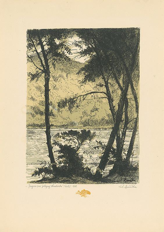 Anton Djuračka - Jazero pri Železnej studienke