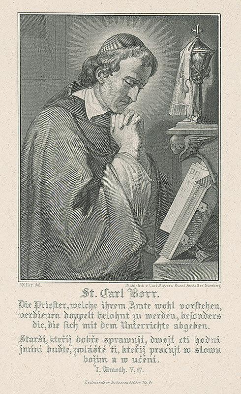 Carl Mayer, Müller - Sv.Karol Boromejský