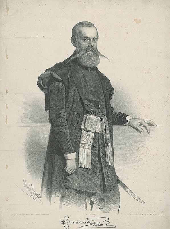 Eduard Kaiser – Podobizeň Františka Molkera
