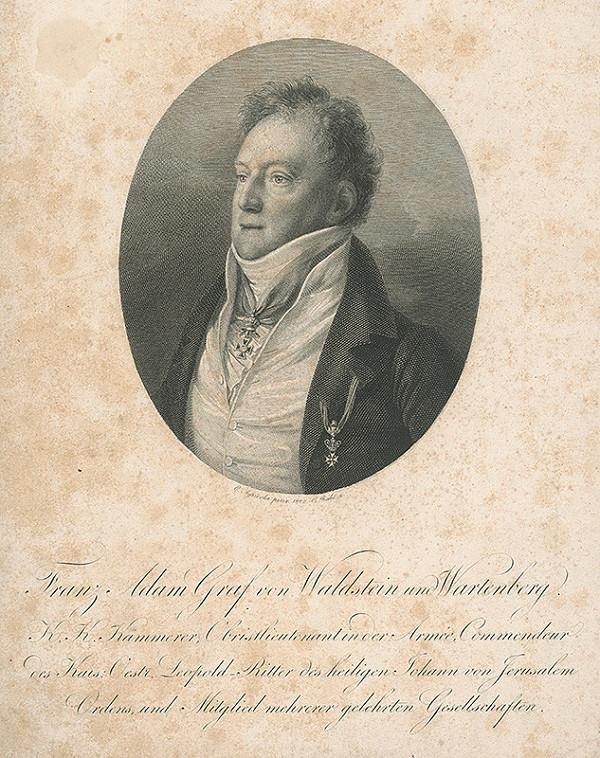 Carl Rahl, Karl Joseph Aloys Agricola – Gróf František Adam z Waldsteina a Wartenbergu