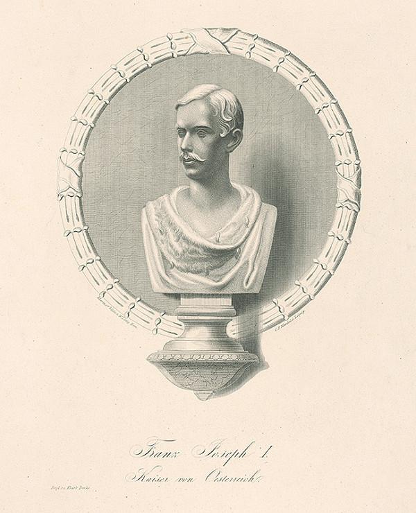 C.F. Merckel – Busta cisára Františka Jozefa I.